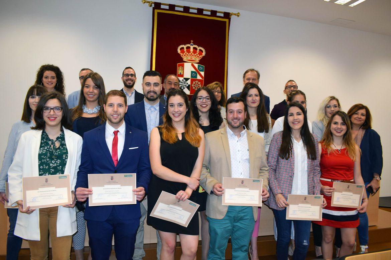 Entregadas las becas de Globalcaja a los alumnos del XXII Máster en Entidades de Crédito