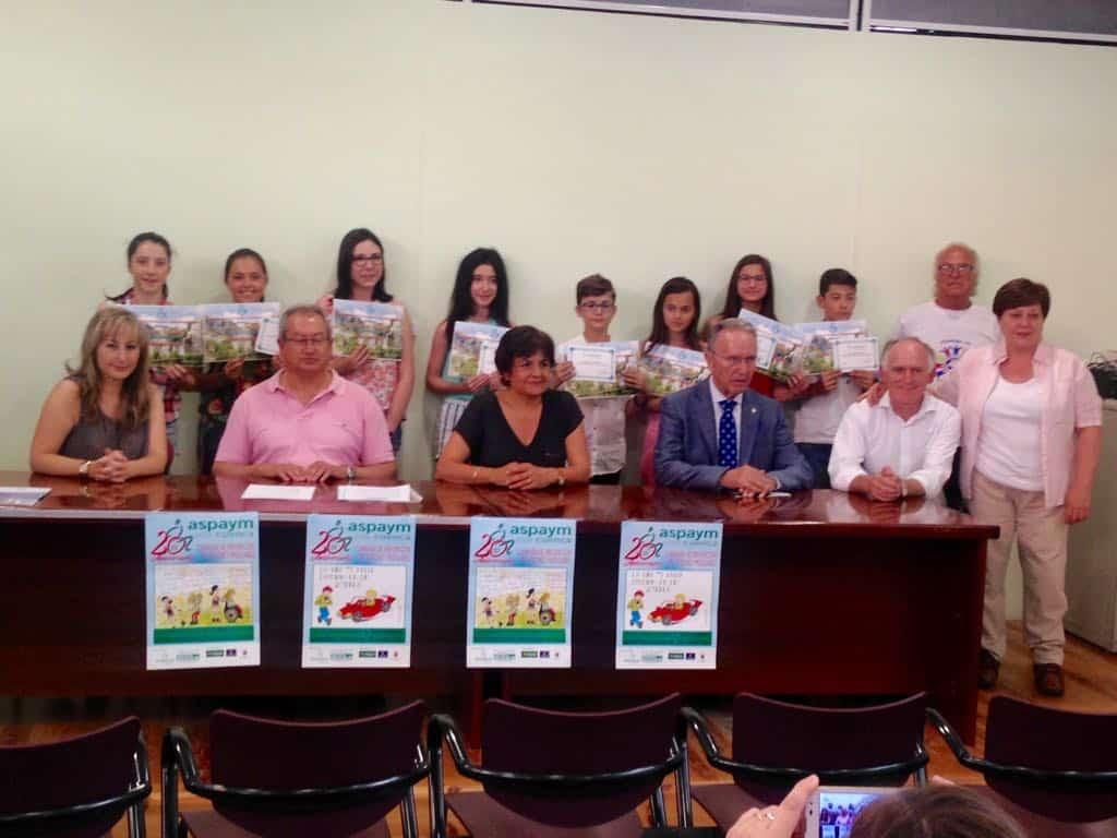 ASPAYM, con la que colabora la Fundación Globalcaja, entrega los premios del XIX Concurso de Dibujo