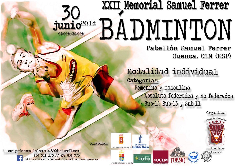 XXII Torneo de Bádminton Memorial Samuel Ferrer