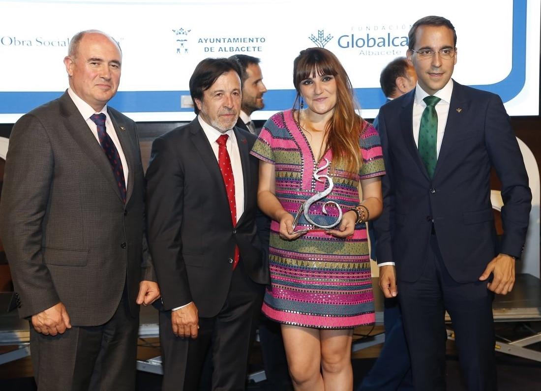 Globalcaja, patrocinadora de Los Premios San Juan de FEDA, como una muestra mas del apoyo al sector empresarial de la provincia
