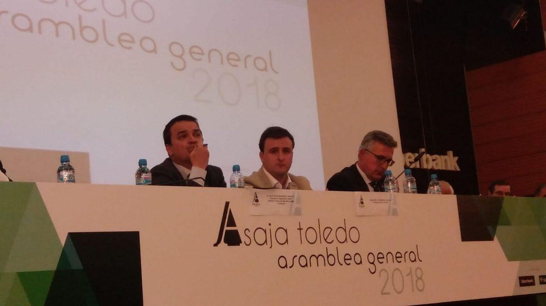 Globalcaja, con Asaja Toledo, en la Asamblea de la Organización Agraria