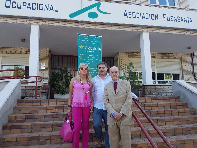 Globalcaja renueva su compromiso social y asistencial con La Asociación Fuensanta