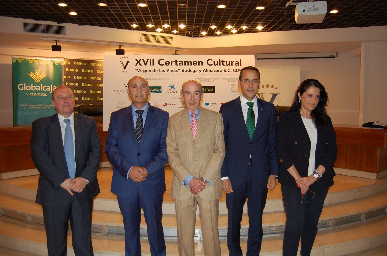 El Director General de Globalcaja, Pedro Palacios, destaca el apoyo al XVII Certamen Cultural Virgen De Las Viñas desde la Primera Edición