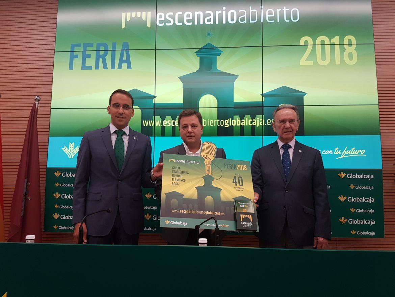 Escenario Abierto de Globalcaja, un nuevo compromiso con Albacete y su Feria