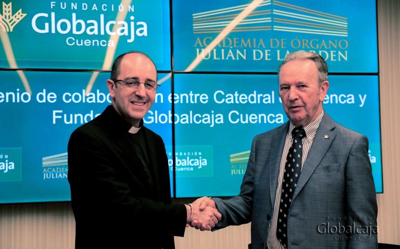 La Fundación Globalcaja renueva su acuerdo con la Catedral De Cuenca para la Academia de Órgano