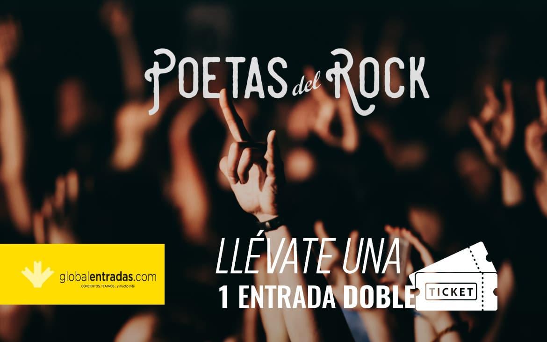 Sorteo de una entrada doble para el festival Poetas del Rock