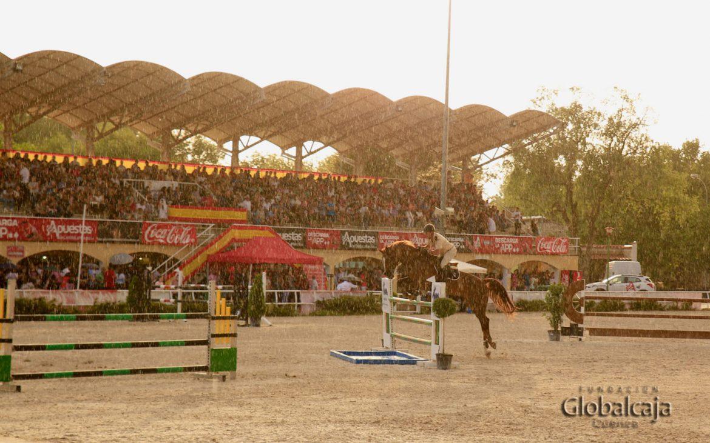 La prueba 'Globalcaja' del XI Concurso Hípico San Julián en Cuenca se celebra con un alto nivel de competición