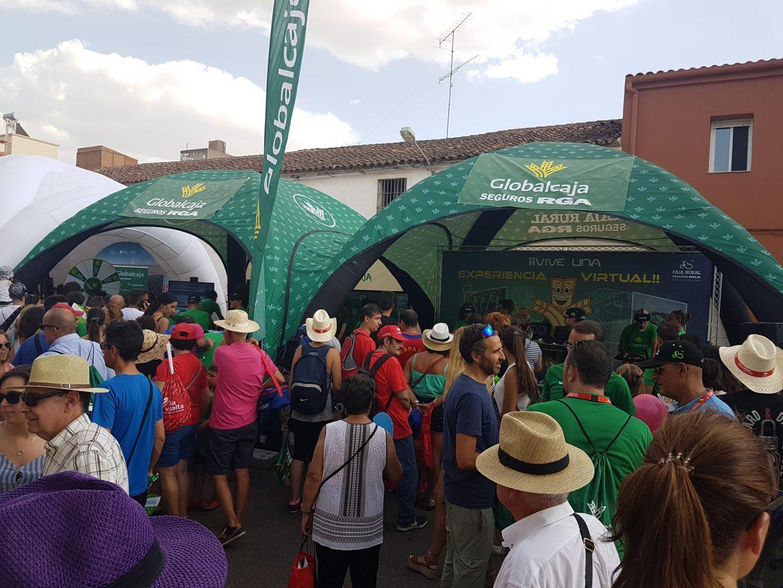 La Bicicleta Solidaria del Grupo Caja Rural, al que pertenece Globalcaja, consigue batir su récord de donaciones con más de 43.000 euros en 2018