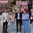 Pedro Palacios destaca la labor de Caritas Diocesana, con la que colabora la entidad en la tradicional Tómbola de la Feria de Albacete