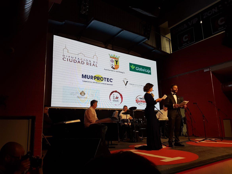 Globalcaja, en la gala de los premios de IMASTV