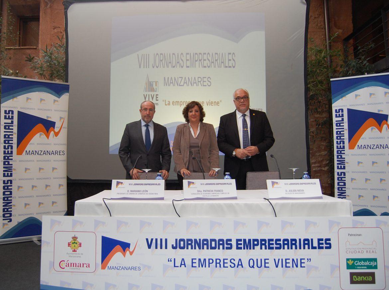 Las Jornadas Empresariales de Manzanares se consolidan como un referente para promover el desarrollo económico