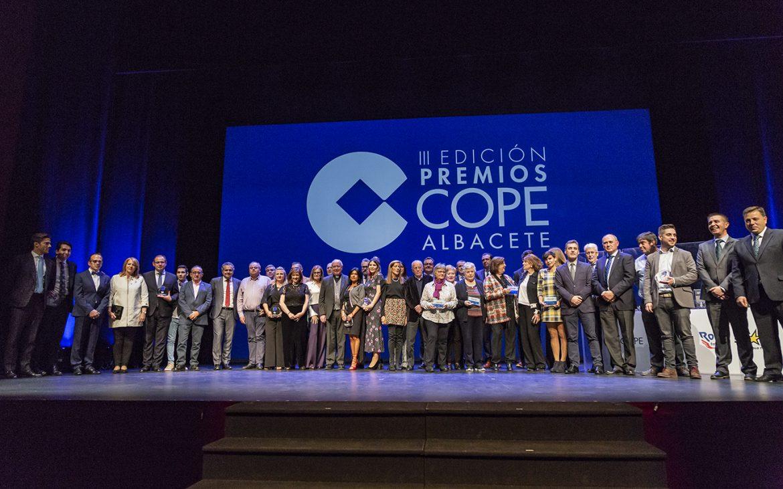 Gala de entrega de los III Premios COPE Albacete