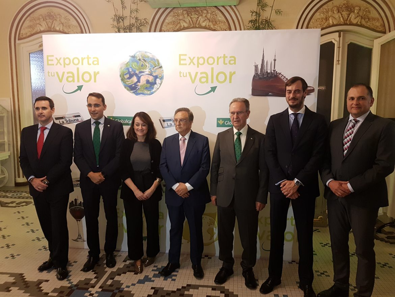 El presidente de Globalcaja, Carlos de la Sierra, en el Foro Exporta Tu Valor, destaca la importancia de la internacionalización como estrategia empresarial