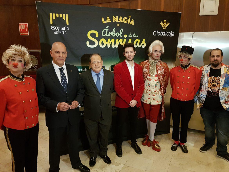 Globalcaja llena Ciudad Real de solidaridad y magia