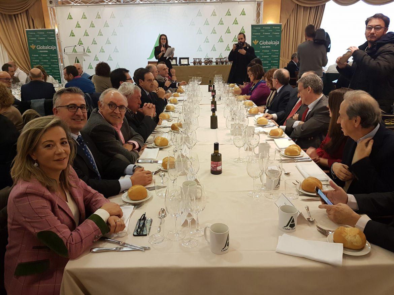 Globalcaja, de nuevo, muestra su apoyo a Asaja Ciudad Real, en el tradicional encuentro de Navidad