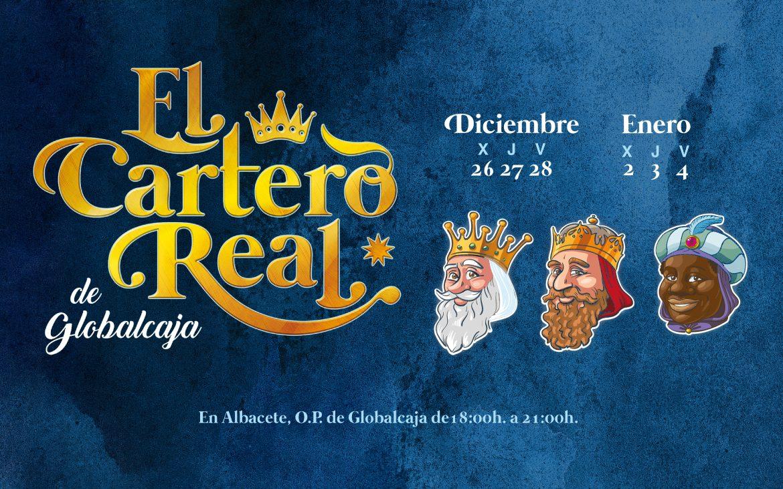 El Cartero Real llega a Globalcaja dispuesto a recoger las cartas de los más pequeños a los Reyes Magos