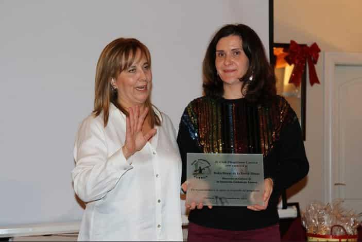 """La Fundación Globalcaja Cuenca, reconocida por el Club Piragüismo """"Cuenca con Carácter"""""""