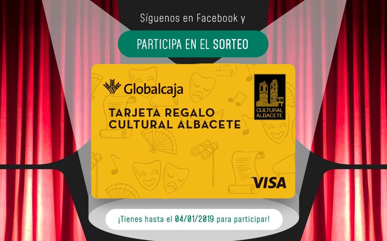 ¡Nuevo sorteo! Gana una Tarjeta Regalo de Cultural Albacete valorada en 50€