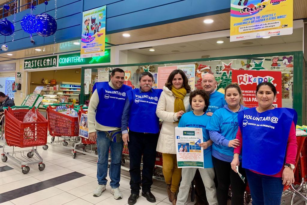 Nuevo apoyo de la Fundación Globalcaja Cuenca con la gran recogida del Banco de Alimentos