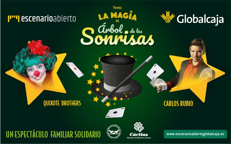 El espectáculo 'La Magia del Árbol de las Sonrisas' marca el inicio de la Navidad