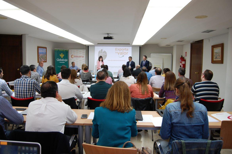El Aula de Internacionalización de Globalcaja y la Cámara de Comercio formó durante 2018 a 120 empresarios de la provincia