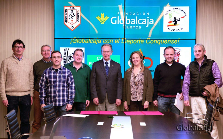La Fundación Globalcaja Cuenca apoya la práctica del deporte en la provincia