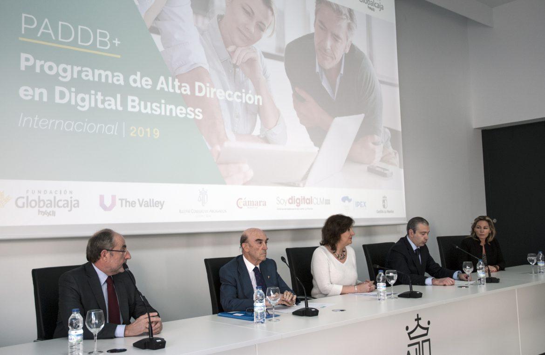 Globalcaja HXXII, JCCM y la Cámara apuestan por la digitalización empresarial