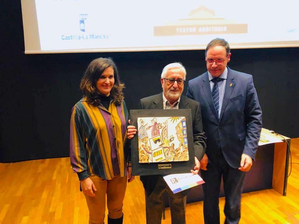 La Fundación Globalcaja Cuenca, con el mundo del periodismo en los III Premios de la Asociación de Prensa