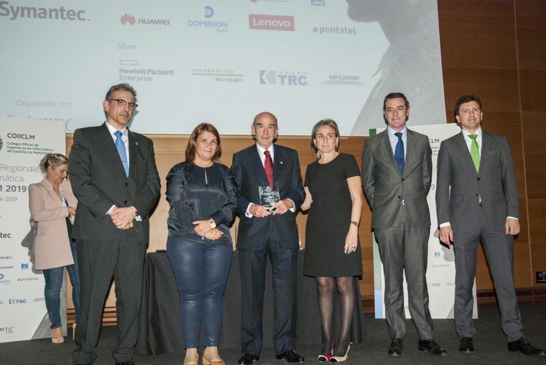 El Colegio de Ingenieros en Informática premia a Globalcaja HXXII por su PADDB Internacional