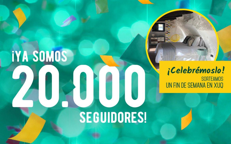 Sorteo 20.000 seguidores: gana un fin de semana en XUQ