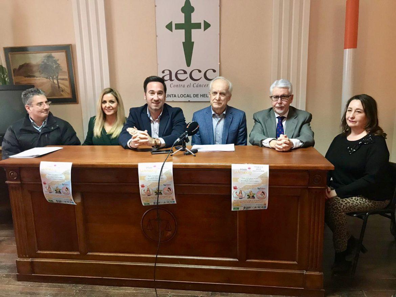 Nueva implicación solidaria y benéfica de Globalcaja con la Asociación Española Contra el Cáncer en Hellín