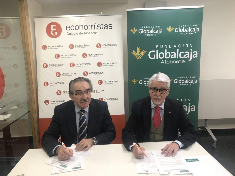 Renovado el convenio de colaboración entre la Fundación Globalcaja Albacete y el Colegio de Economistas