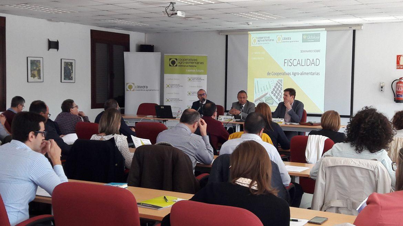 La Cátedra de Cooperativas Agro-alimentarias celebra su primer seminario sobre Fiscalidad en Castilla-La Mancha