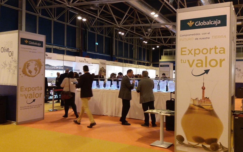 El servicio de Negocio Internacional de Globalcaja afianza su presencia en la World Olive Oil Exhibition