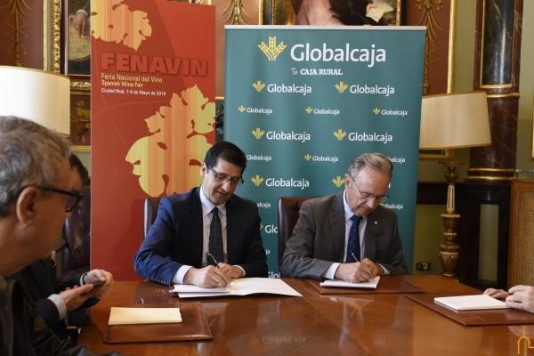 Globalcaja apoya a FENAVIN en su décima edición con el patrocinio de la Galería del Vino