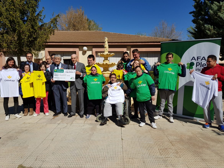 Globalcaja muestra su compromiso social con la Fundación Afas