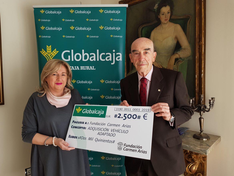 "Apoyo de Globalcaja a la Fundación ""Carmen Arias"""