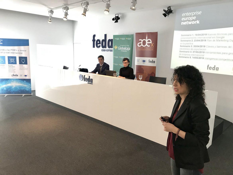 """IN-FEDA pone sobre la mesa que la internacionalización es todo, """"pero no para todos. las empresas tienen que estar preparadas"""""""