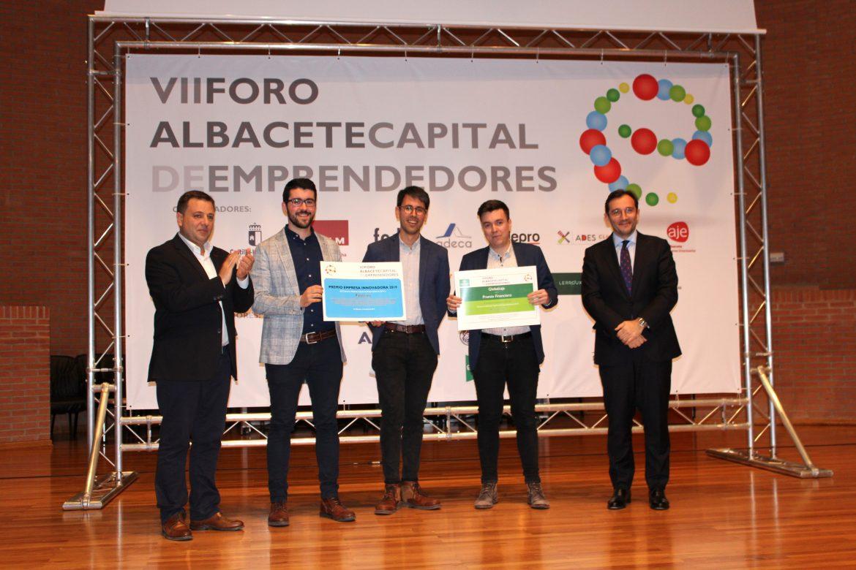 Globalcaja, patrocinador del premio PROYECTO O EMPRESA INNOVADORA en las 7 ediciones celebradas del FORO Albacete Capital de EMPRENDEDORES