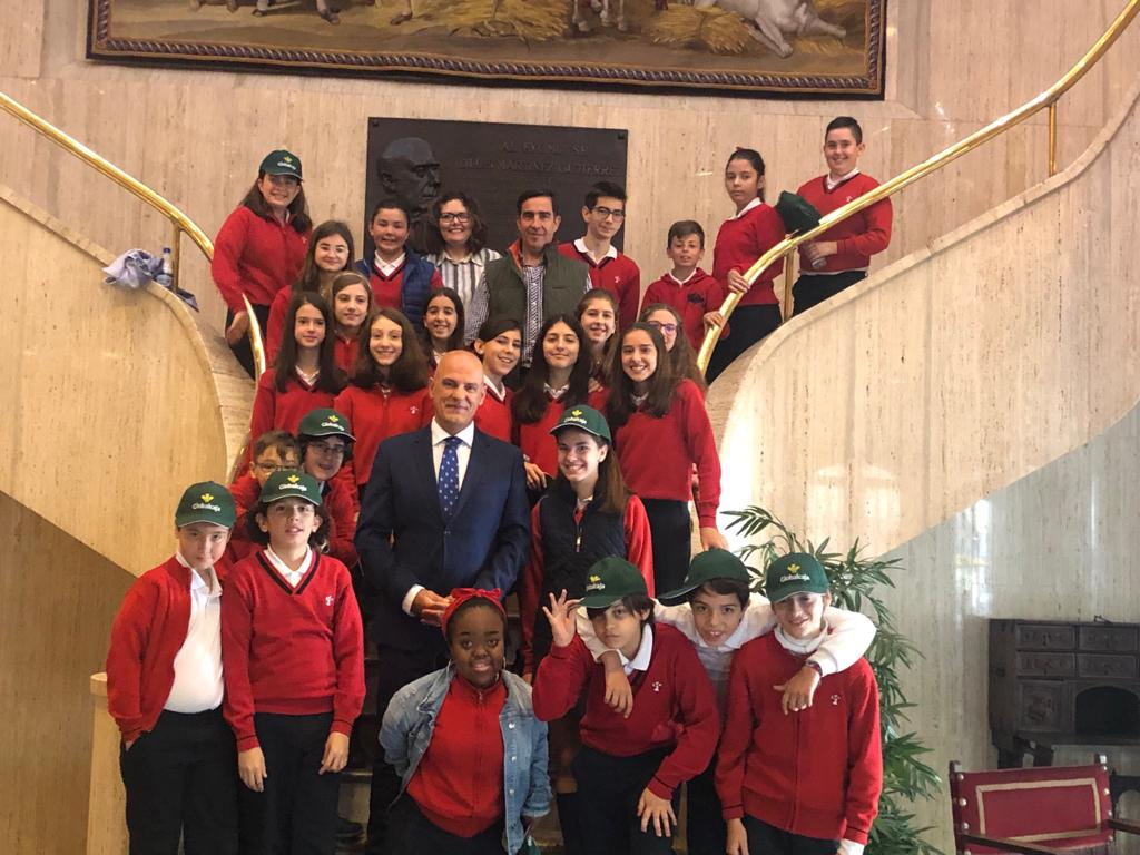 Los alumnos del Colegio San José de Ciudad Real conocen en Globalcaja el funcionamiento de las finanzas