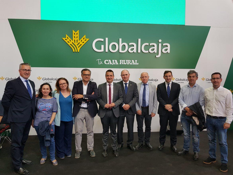 Globalcaja apoya Expovicaman desde sus inicios como una muestra de su compromiso con el sector agrario y ganadero