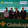 """Convenio de Globalcaja con la Asociación de Empresarios del Polígono Romica de Albacete """"ADEPRO"""""""