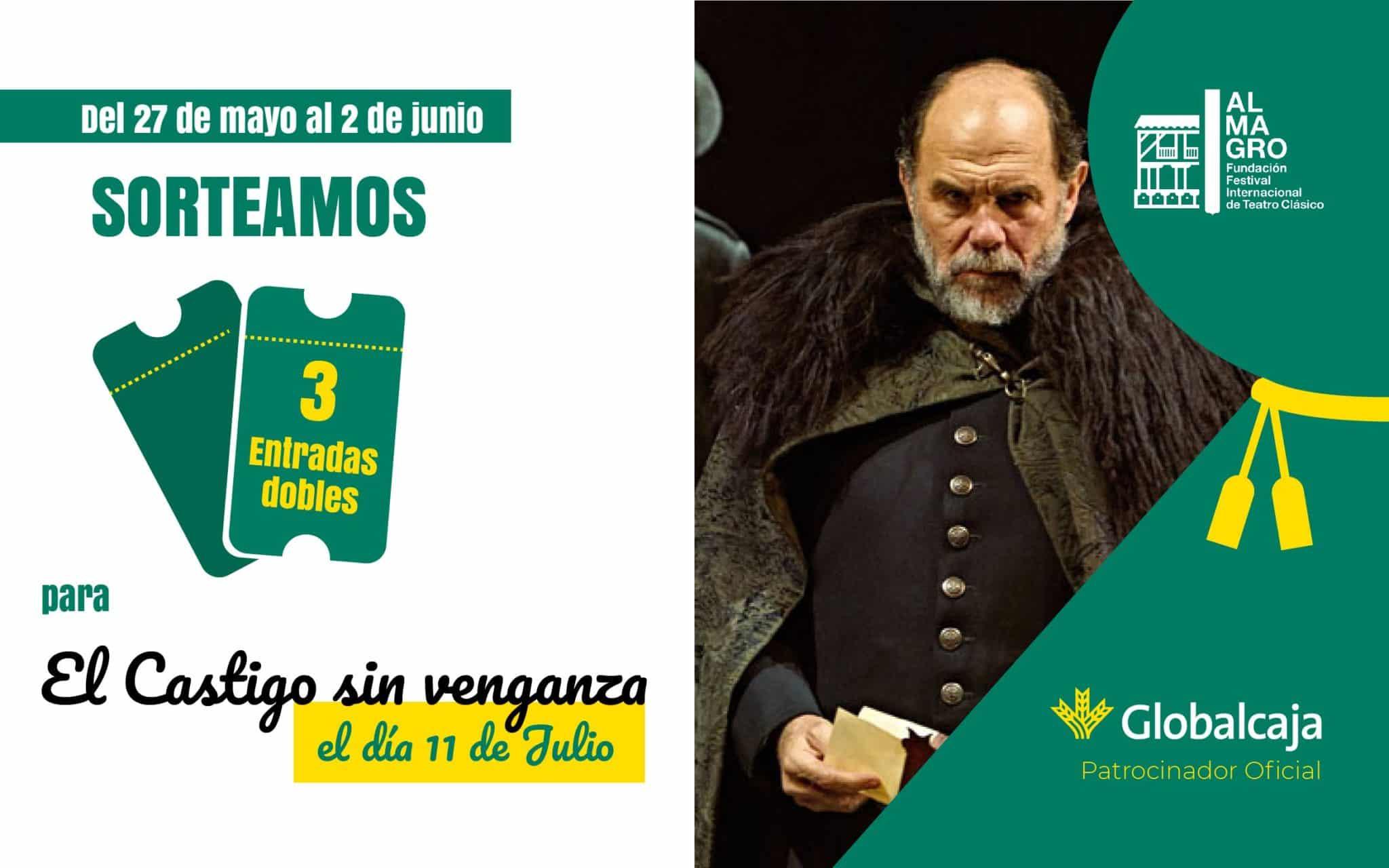 Te invitamos a la obra 'El castigo sin venganza' en el Festival de Teatro Clásico de Almagro
