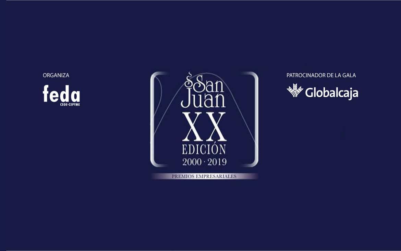 Ya se conocen los galardonados de los XX Premios San Juan de FEDA