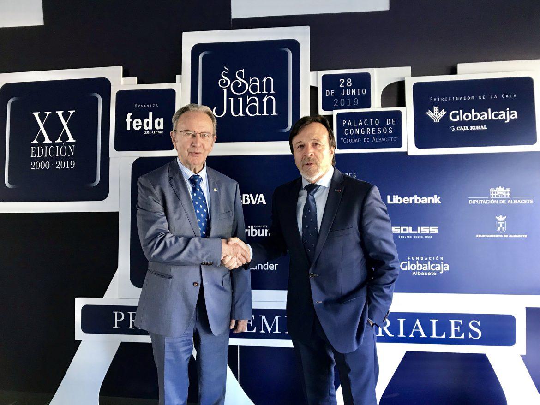 En la XX Edición, los Premios San Juan siguen teniendo a Globalcaja como patrocinador de la gala