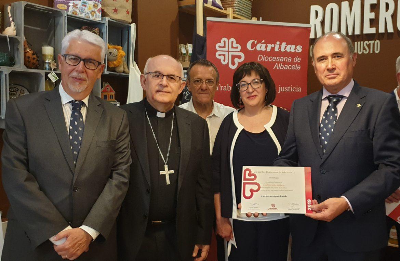 Globalcaja, reconocida por Caritas Diocesana de Albacete