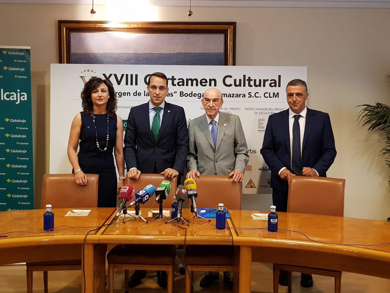 Globalcaja acoge la presentación del XVIII Certamen Cultural Cooperativa Virgen de Las Viñas