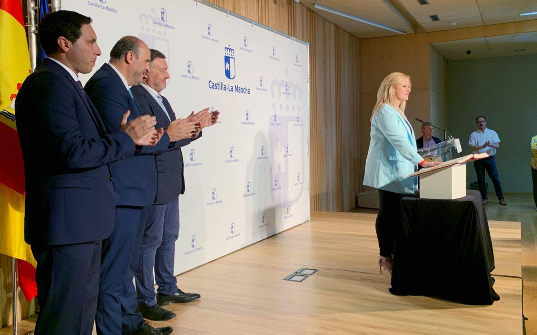 Globalcaja, en la toma de posesión de la nueva delgada de la junta en Cuenca