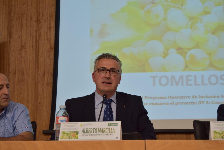 Globalcaja muestra su apoyo para continuar con el desarrollo del sector vitivinícola de la región