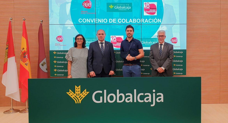 La Fundación Globalcaja Albacete renueva el convenio con Aje